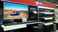LG Soundbar Display