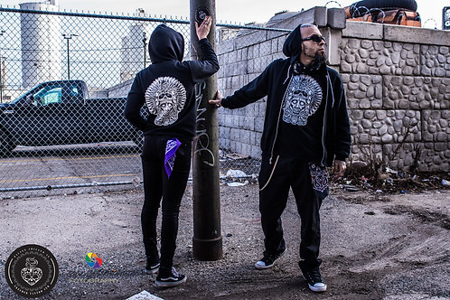 killer priest (Indigenous Head) Zip Up Hoodie
