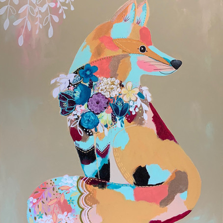 Adorned Fox