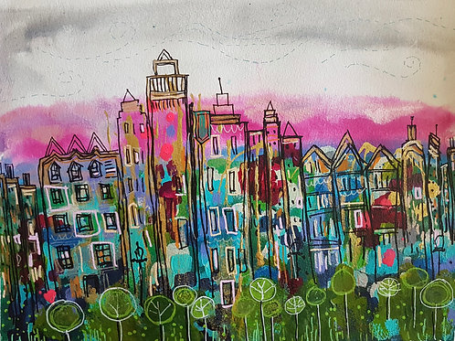 The City is Alive - Print