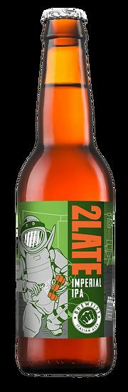 Brewfist - 2Late Bottiglia 33 cl.