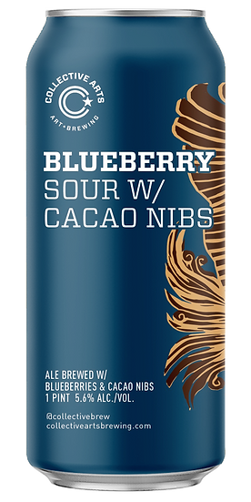 Collective Arts BLUEBERRY SOUR W/ CACAO  Lattina Cl. 47,1