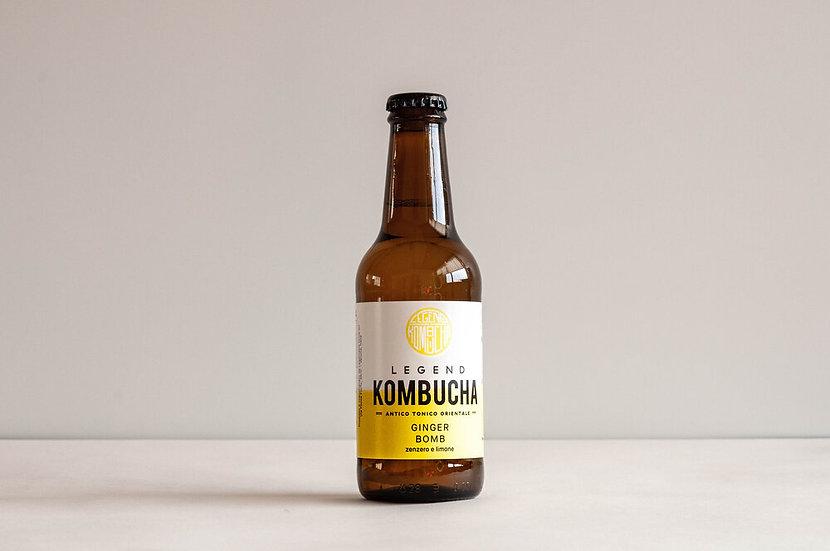Legend Kombucha - Ginger Bomb Bottiglia 25 cl.