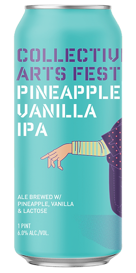 di Collective Arts Fest Pinnaple Vanilla Ipa Lattina Cl. 47,1
