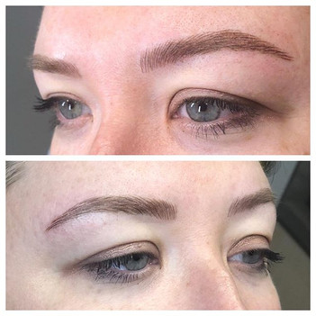 Gorgeous peepers!  Microblading brows