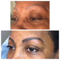 Updated and color corrected brow using t