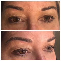 Pretty peepers!! Microblading first sess