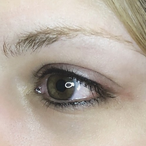 Soft lash enhancement tattoo