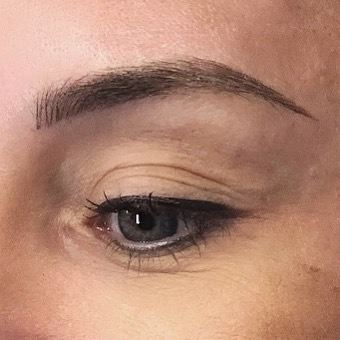 Ombre microfusion brow