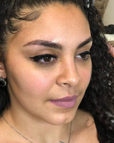 Full boss brows!  Microbladed
