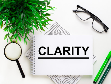Do You Have Clarity?