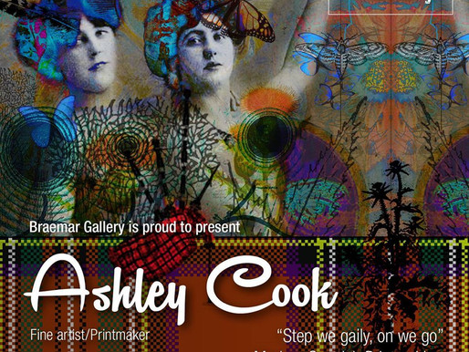 Take The High Road: A Preview Of Ashley Cook's Step We Gaily, On We Go Exhibition…