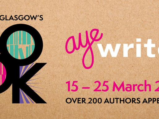 Talking Books: A Preview Of Aye Write! 2018…