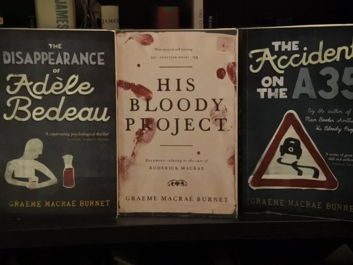 Happy Accidents: The Scots Whay Hae! Podcast Talk To Graeme Macrae Burnet…