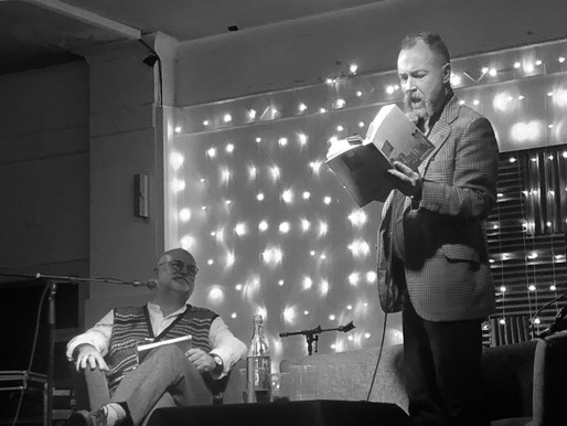Mono Mania – A SWH! Podcast Special: The Glasgow Launch Of David Keenan's For The Good T