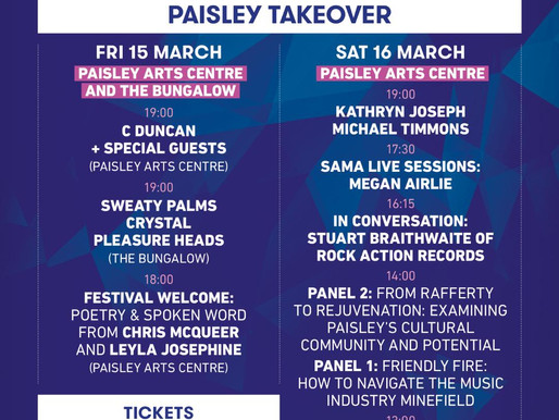 Paisley Patter: The SAMAs Come To Town…