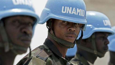 TO BECOME U.N. BLUE HELMETS