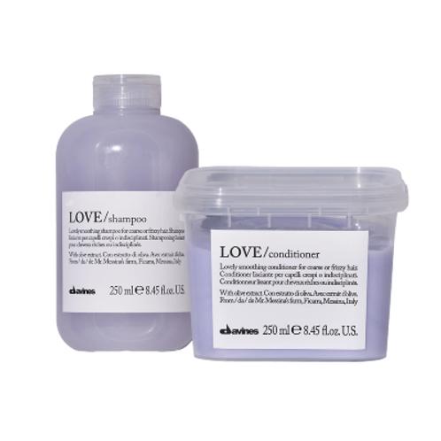 Davines Love Smoothing Shampoo & Conditioner Bundle