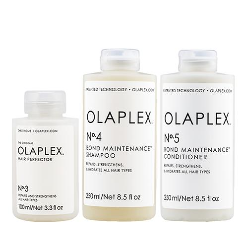 Olaplex No.3, No.4 & No.5. Olaplex Take Home Treatment Kit.