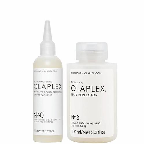 Olaple No.0 + No.3. Olaplex Prime and Treat Set