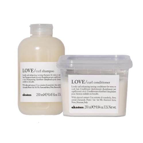 Davines Love Curl Enhancing Shampoo & Conditioner Bundle