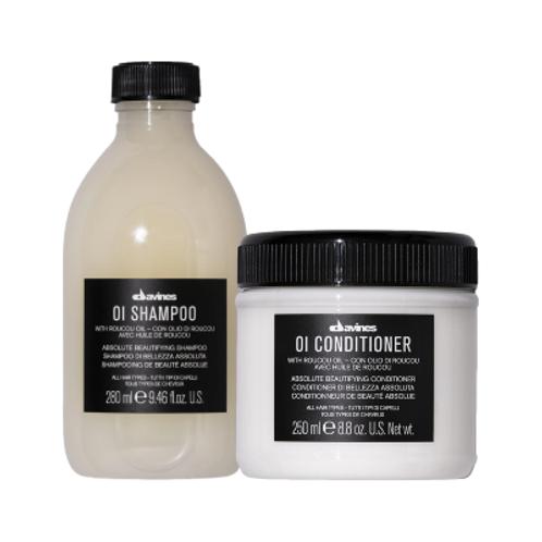 Davines Oi Shampoo & Conditioner Bundle
