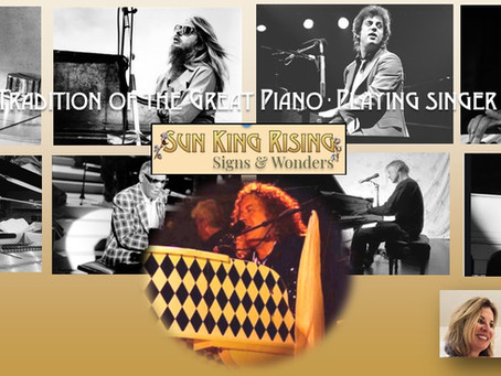 In the Grand Tradition of the Great Piano-Playing Singer-Songwriters.