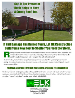 Living Water Christian Center Email Ad s