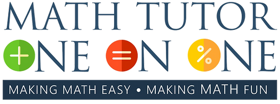 Math Tutor One On One Logo