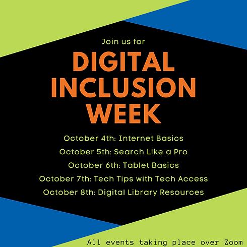 Digital Inclusion Week: Internet Basics