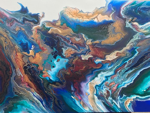 Combustion - 24x36