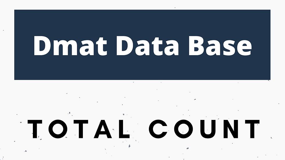 Dmat Database
