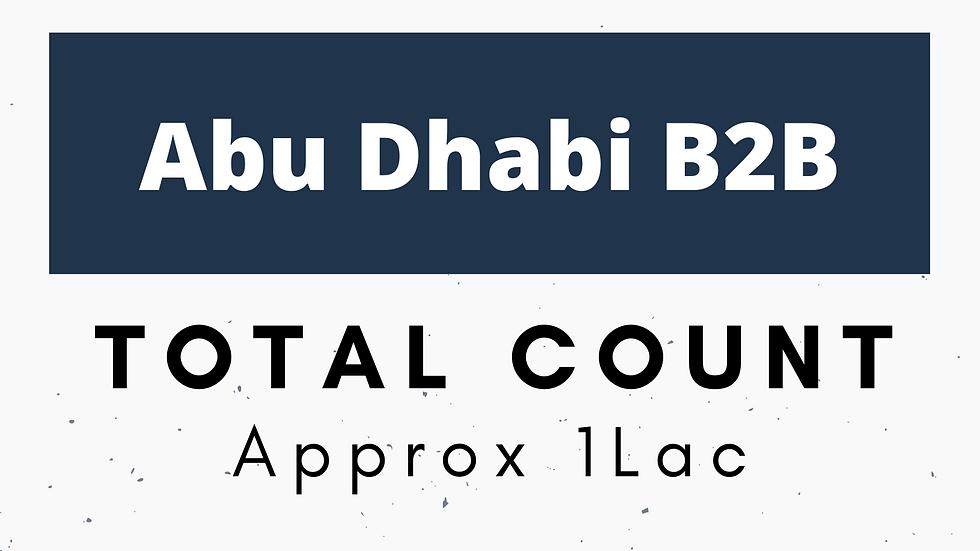 Abu Dhabi Business