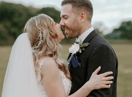 Rebecca & Adam | Stockbridge Barn Farm Wedding