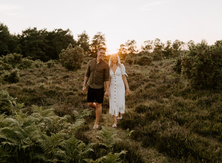 Sian & Mike | New Forest | Couple Session