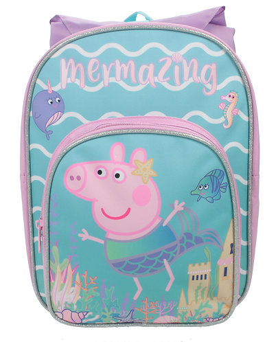 Peppa Pig Backpack With Rainhood