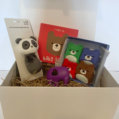 Baby Gift Box (small) - Animal Themed