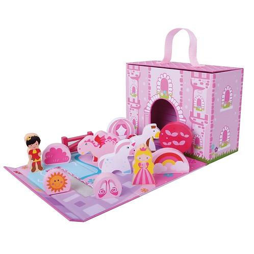 Foldaway Fairy Unicorn Castle