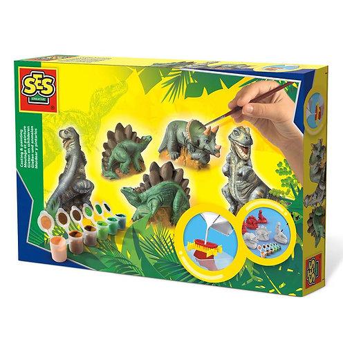 Dinosaur Casting & Painting Set