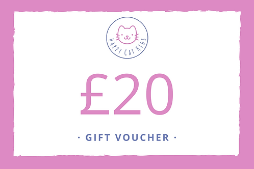 Happy Cat Kids Gift Vouchers