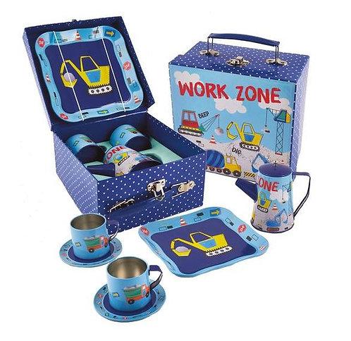 Construction 7 Piece Tea Set