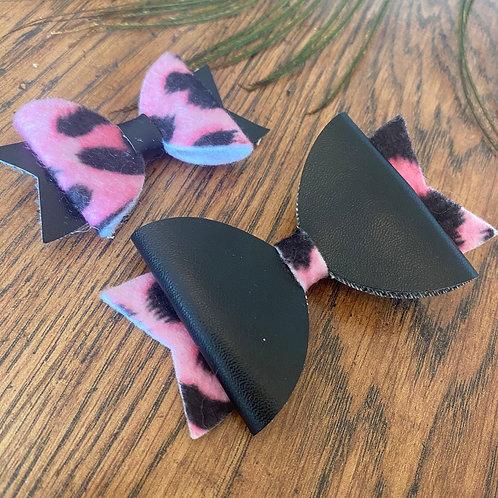 Set of 2 Handmade Hair Bows