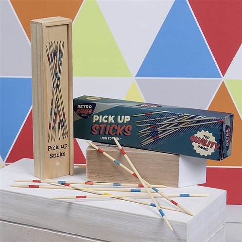 Retro Pick-Up Sticks Game