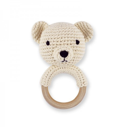 Banbe Crochet Teddy Rattle