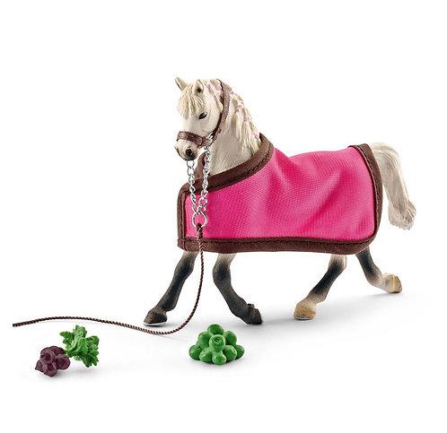 SCHLEICH Horse Club Arab Mare with blanket
