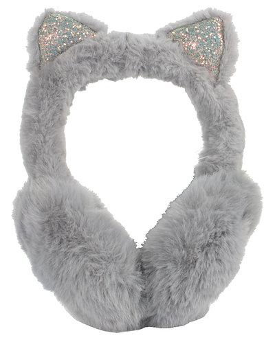 Sparkly Cat Earmuffs