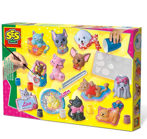 Cats & Dogs Casting & Painting Set