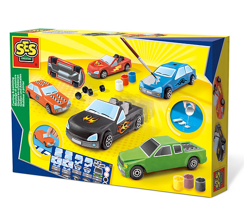 Cars Casting & Painting Set