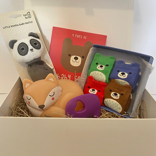 Baby Gift Box (large) - Animal Themed