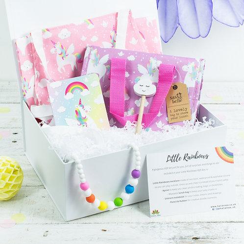 Rainbow Themed Gift Box